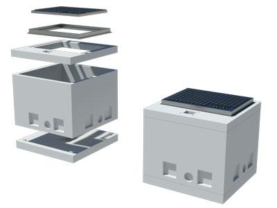 Šaht za telekom instalacije MB1i