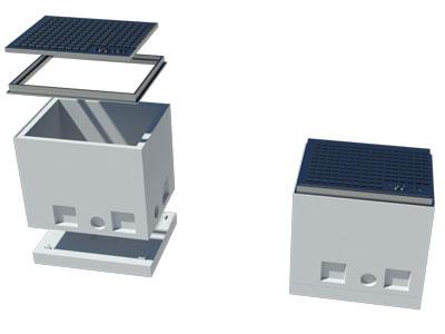 Šaht za telekom instalacije MB1