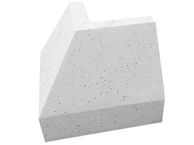 Ivičnjak polirani ugaoni 85x20x30